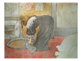 Woman at the Tub from 'Elles', 1896 Lámina giclée por Henri de Toulouse-Lautrec