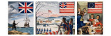 The Evolution of the American Flag, 1966 Giclee Print by  Escott