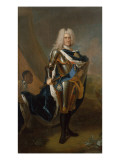 King Augustus Ii of Poland, before 1730 Giclee Print by Louis de Silvestre