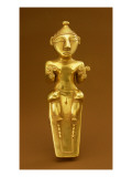 Quimbaya Lime Flask, from Colombia Giclee Print by  Pre-Columbian