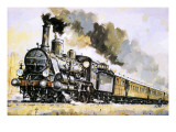 The Orient Express, Introduced in 1883 Giclee Print by John S. Smith