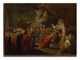Founding of the Order of the Black Eagle Giclee Print by  Pesne
