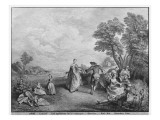 The Pleasures of the Countryside Giclee Print by Nicolas Lancret