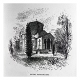 The Royal Mausoleum, Frogmore Giclee Print by Herbert Railton