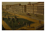 View of Wilhelmsplatz from the North, 1773 Giclee Print by Johann Friedrich Meyer
