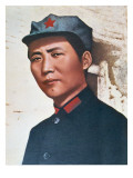 Mao Zedong in Northern Shensi, 1936 Giclee Print by Chinese Photographer 