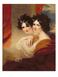 Congratulations Portraits of Two Ladies Giclee Print by George Henry Harlow