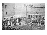 The Hanging of John Wilkes Booth's Giclee Print by American Photographer