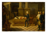 Frederick Ii in the Elector's Crypt Giclee Print by  German School