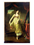Portrait of Mademoiselle Hilligsberg Giclee Print by John Hoppner