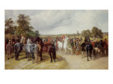 English Horse Fair on Southborough Common Giclee Print by John Frederick Herring I