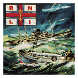 Royal National Life-Boat Institution or Rnli Giclee Print by  Escott