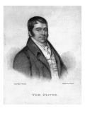 Tom Oliver, Engraved by Percy Roberts Giclee Print by George Sharples