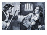 The Execution of Admiral Byng Giclee Print by Paul Rainer