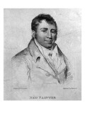 Ned Painter, Engraved by Hopwood Giclee Print by George Sharples
