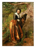 The Proscribed Royalist, 1651, 1852-53 Giclee Print by John Everett Millais