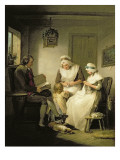 The Story of Laetitia: 'Domestic Happiness' Giclee Print by Morland