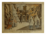 Scene from &#39;The Magic Flute&#39; by Mozart, 1795 Giclee Print by Joseph &amp; Peter Schaffer