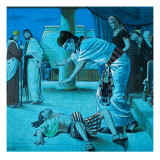 The Last Plague, from 'The Story of Moses' Giclee Print by Clive Uptton