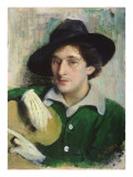 Portrait of Marc Chagall, C.1910 Giclee Print by Yuri Moiseyevich Pen