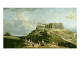 The Fortress of Konigstein, 18th Century Giclee Print by Bernardo Bellotto