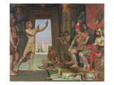 Joseph Interpreting Pharaoh's Dream, 1894 Reproduction procédé giclée par Reginald Arthur