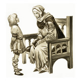 When They Were Young: King Alfred Giclee Print by Peter Jackson