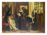 Mary Queen of Scots in Captivity, 1871 Giclee Print by John Callcott Horsley