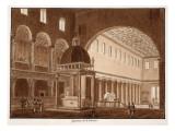 The Basilica of San Lorenzo, 1833 Giclee Print by Agostino Tofanelli