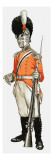 92Nd. Hon. Artillery Co. Infantry Div. Private 1803 Giclee Print by  English School