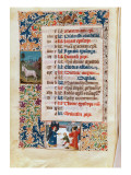 V.25-3 Fol.12V the Month of December Giclee Print by  Flemish School