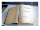 Frontispiece of 'Ulysses' by James Joyce Giclee Print