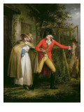 The Story of Laetitia: 'The Elopement' Giclee Print by Morland