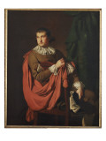 Portrait of William Stafford Giclee Print by Joseph Wright of Derby