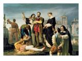 The Comuneros: Juan De Padilla Giclee Print by Antonio Gisbert