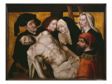 The Descent from the Cross, C.1525 Giclee Print by Hugo van der Goes