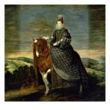 Portrait of Queen Margaret of Austria Giclée-Druck von Diego Rodriguez de Silva y Velazquez