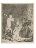 The Beheading of John the Baptist, 1640 Giclee Print by  Rembrandt van Rijn