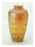 Opaque Vase with Enamel Decoration Giclée-tryk af Émile Gallé