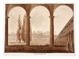 The Cloister of the Charterhouse, 1833 Giclee Print by Agostino Tofanelli