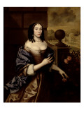 Mary, Duchess of Buckingham Giclee Print by John Michael Wright