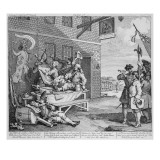 England, Plate Ii of 'The Invasion', 1756 Giclee Print by William Hogarth