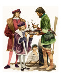 When They Were Young: King Henry Viii Giclee Print by Peter Jackson