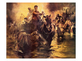 The Great Chicago Fire of 1871 Giclee Print by Neville Dear