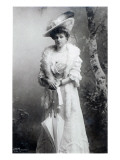 Queen of Spain, Ena of Battenberg, C.1910 Giclée-trykk
