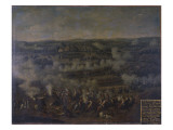 The Battle of Rossbach, 1757 Giclee Print by  German School