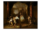 Allegory of the City of Amsterdam Giclee Print by Gerard De Lairesse