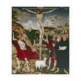 Christ on the Cross, 1552-55 Giclee Print by Lucas Cranach the Elder