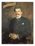 Johann Strauss the Younger, 1895 Giclee Print by Franz Seraph von Lenbach