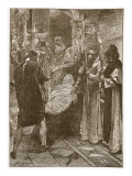 The Burial of King Ethelbert of Kent Giclee Print by John Henry Frederick Bacon
